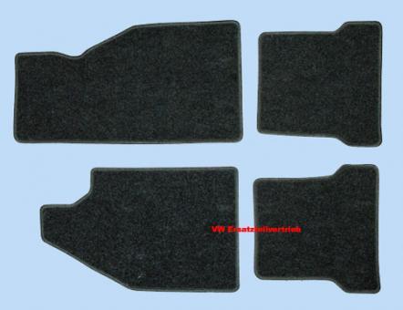 Fussmattensatz schwarz Top Qualität