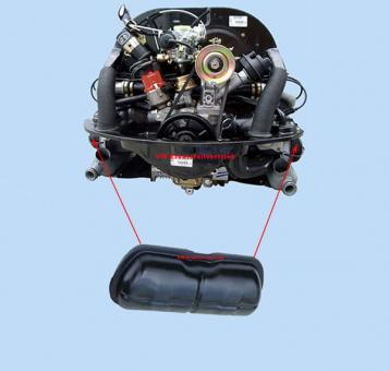 Ventildeckel Orginal VW 34-50 PS Motor
