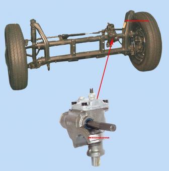 Lenkgetriebe Neu TRW