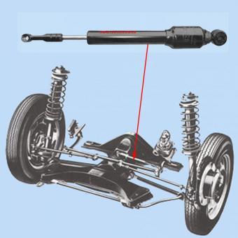 Lenkungsdämpfer Öldruck 1302 + 1303