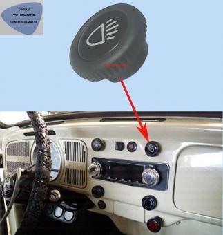 Knopf Lichtschalter für Blecharmaturenbrett