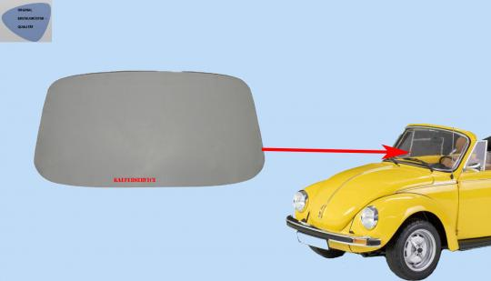 Frontscheibe 1303 Cabrio klar