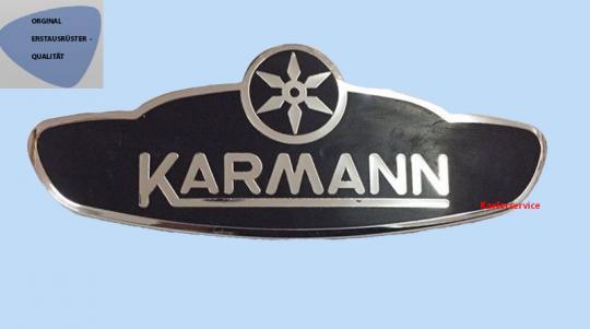 Karmann Schild Original