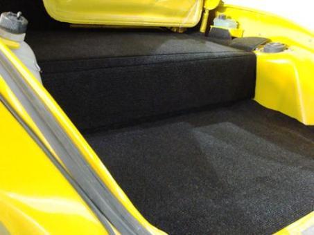 Kofferraumpappe 1302/03 mit Teppich