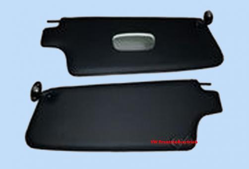 Sonnenblendensatz schwarz Cabrio 1303