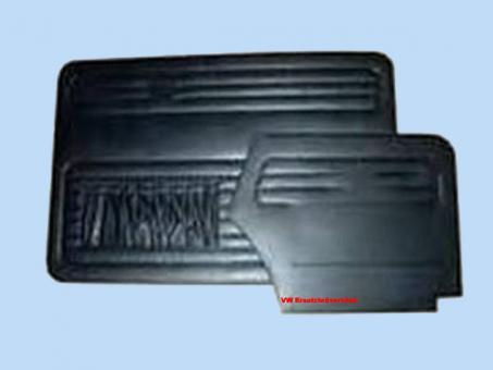 Tür + Seitenverkleidung Cabrio 1966-1972 schwarz