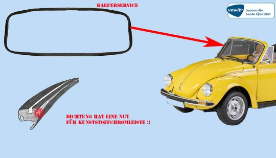 Käfer Cabrio Kunststoff-Chrom 1303 Cabrio